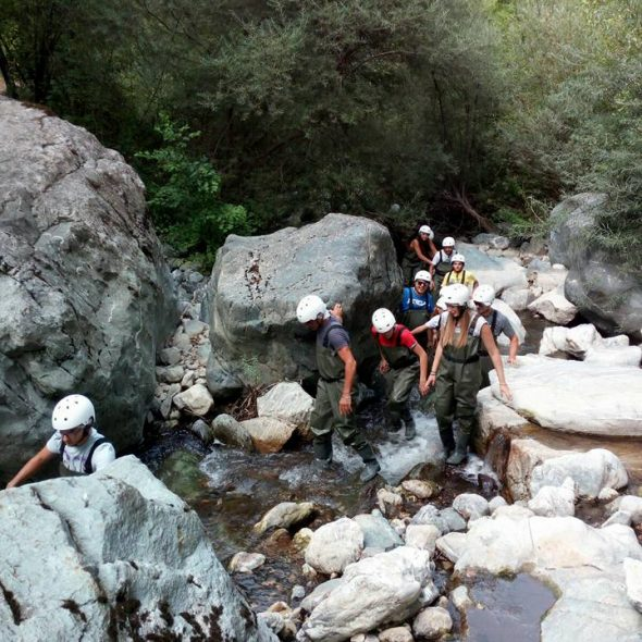 river trek nel Torrente Peschiera